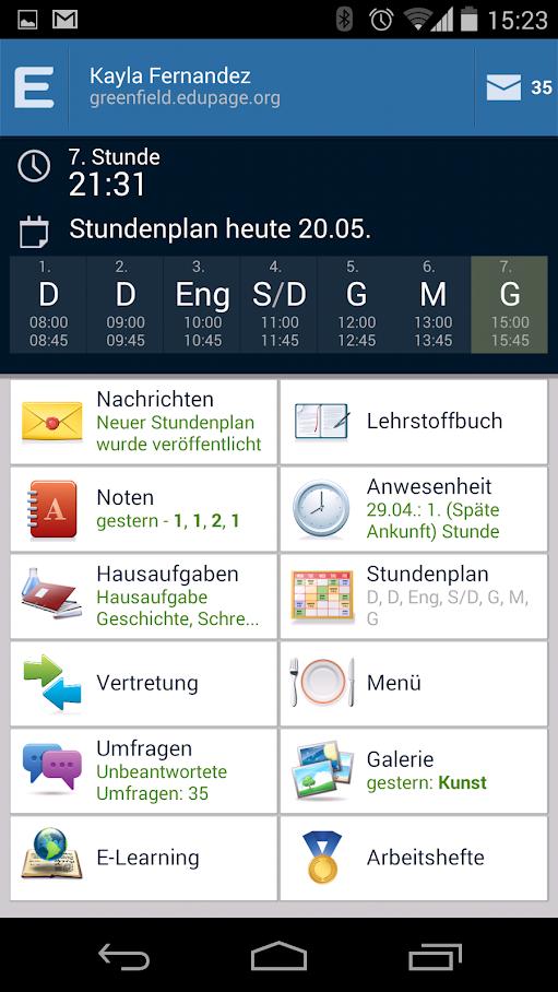 Edupage-App
